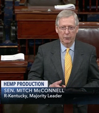 Sen. McConnell introduces The Hemp Farming Bill of 2018