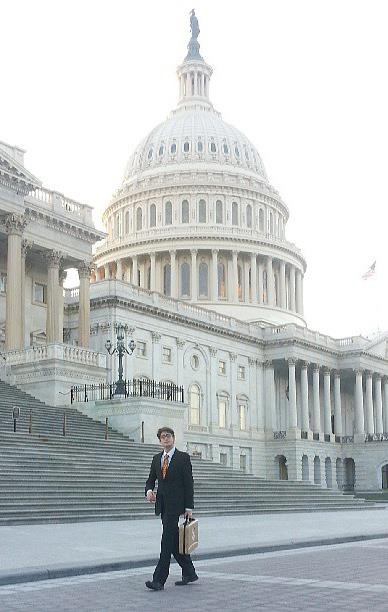 Ben Droz on Capitol Hill