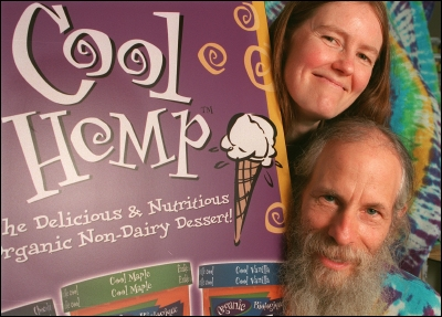 Christina and Robbie Anderman of Cool Hemp