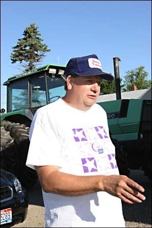 North Dakota House Speaker and hemp farmer David Monson