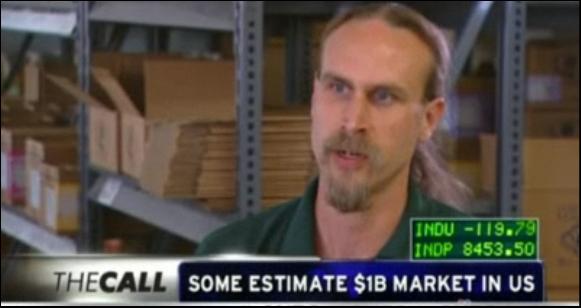 David Bronner on CNBC