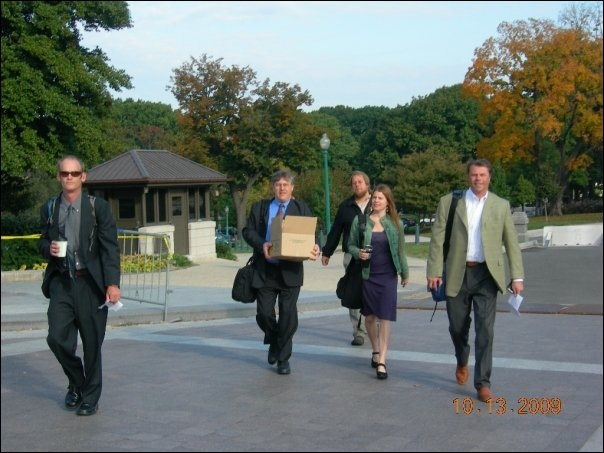 Lobbying in Washington, DC, October 2009