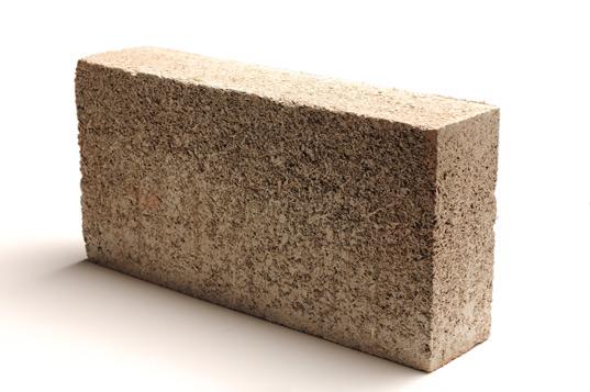 Hemcrete Block made from hemp