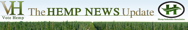 The Hemp News Update Header