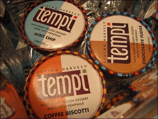 Tempt frozen hemp desserts