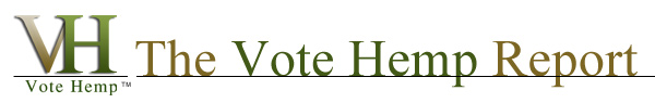 Vote Hemp Report Header