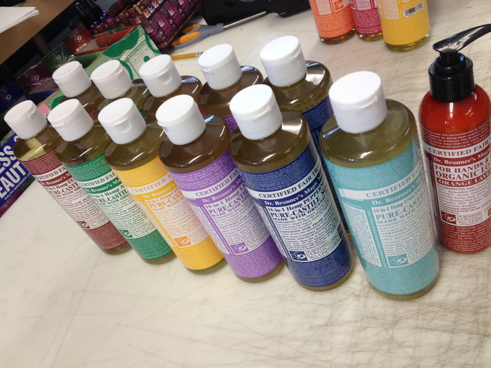 Dr. Bronner's Magic Soaps - Sampler Pack Offer