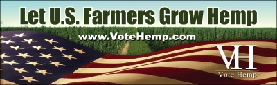 Vote Hemp Bumper Stickers