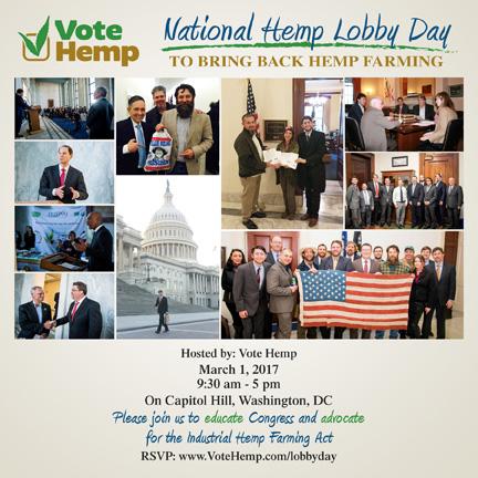Hemp Lobby Day 2017