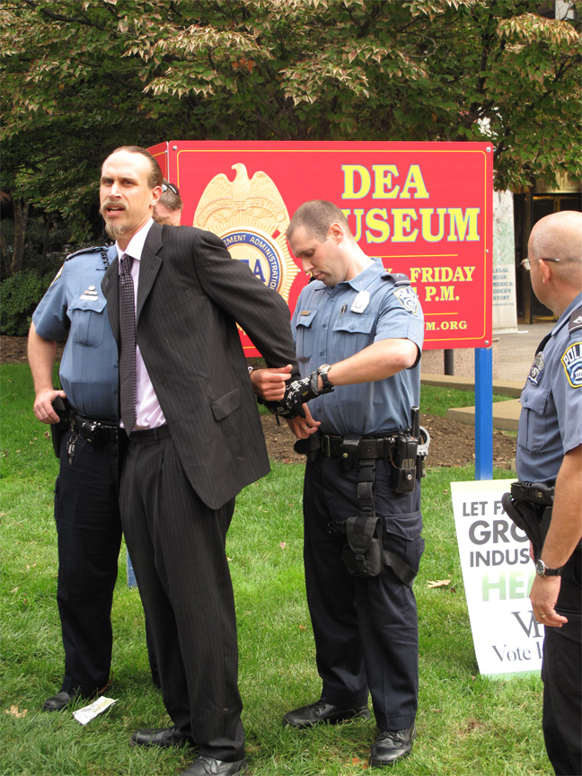 David Bronner arrested at DEA headquarters