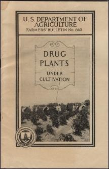 1927 USDA Bulletin - Drug Plants