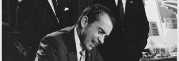 Nixon signs the Controlled Substances Act into law